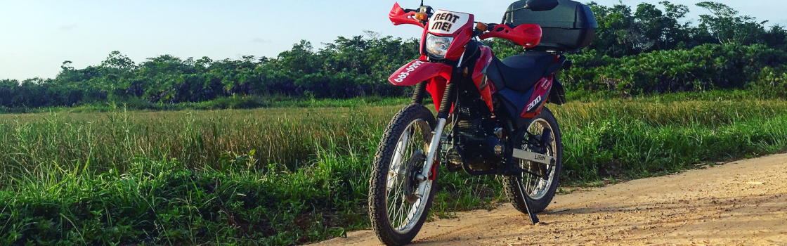 Motorbike Rentals & Alternate Adventures | Motorbike Rentals & Motorcycle rental & self-guided motorcycle tours, Belize